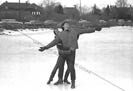 Dick and Mimi on ice